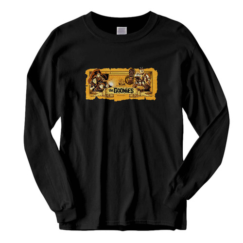 This classic fit The Goonies Ii Fresh Best Long Sleeve Shirt is casually elegant and very comfortable. With fine quality print to make one stand out, it's a perfect fit for every occasion.