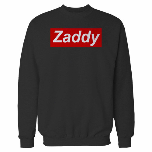 Your zaddy custom crewneck sweatshirt just got an update. This super comfortable and lighter weight crewneck will become your favorite go-to sweatshirt. The cozy spandex cuffs and waistband make this pill-resistant sweatshirt a fan favorite.And your group will look and feel their best in this premium ringspun cotton crew.