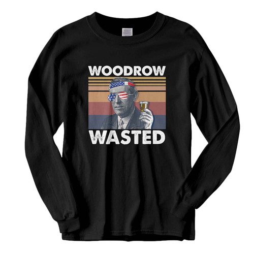 This classic fit woodrow wasted Fresh Best Long Sleeve Shirt is casually elegant and very comfortable. With fine quality print to make one stand out, it's a perfect fit for every occasion.