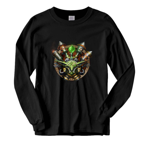 This classic fit World Of Warcraft Goblin Logo Fresh Best Long Sleeve Shirt is casually elegant and very comfortable. With fine quality print to make one stand out, it's a perfect fit for every occasion.