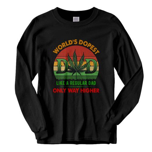 This classic fit Worlds Dopest Dad Fresh Best Long Sleeve Shirt is casually elegant and very comfortable. With fine quality print to make one stand out, it's a perfect fit for every occasion.