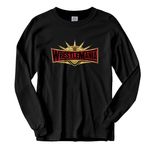 This classic fit Wrestlemania WWE Logo Fresh Best Long Sleeve Shirt is casually elegant and very comfortable. With fine quality print to make one stand out, it's a perfect fit for every occasion.