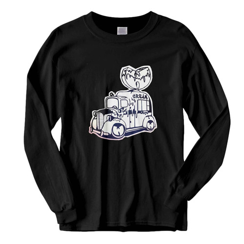 This classic fit Wu Tang Clan Ice Cream Truck Fresh Best Long Sleeve Shirt is casually elegant and very comfortable. With fine quality print to make one stand out, it's a perfect fit for every occasion.