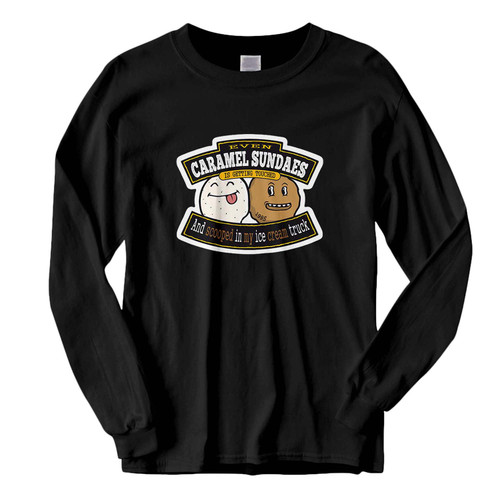 This classic fit Wu Tang Ice Cream Truck Caramel Sundaes Fresh Best Long Sleeve Shirt is casually elegant and very comfortable. With fine quality print to make one stand out, it's a perfect fit for every occasion.