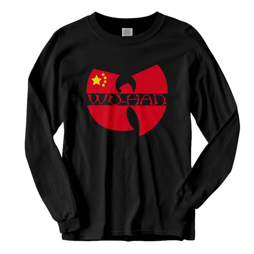 This classic fit Wu Tang Wuhan Parody Logo Fresh Best Long Sleeve Shirt is casually elegant and very comfortable. With fine quality print to make one stand out, it's a perfect fit for every occasion.