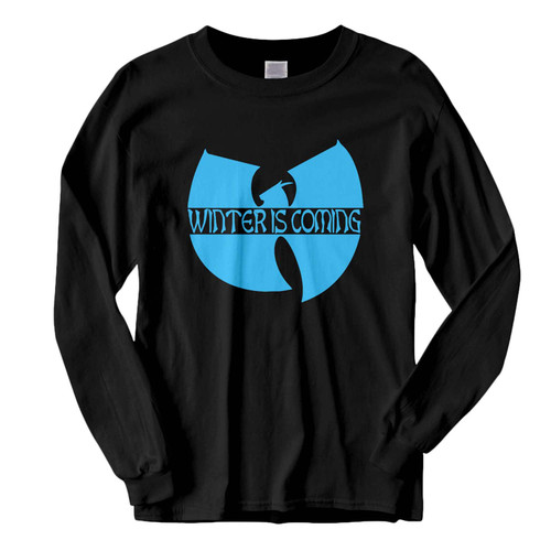This classic fit Wu-tang Winter is Coming Game of Thrones Fresh Best Long Sleeve Shirt is casually elegant and very comfortable. With fine quality print to make one stand out, it's a perfect fit for every occasion.