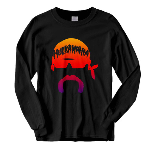 This classic fit Wwe Hulk Hogan Face Hulkmania Wrestling Art Fresh Best Long Sleeve Shirt is casually elegant and very comfortable. With fine quality print to make one stand out, it's a perfect fit for every occasion.