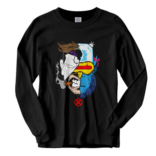 This classic fit X MenX Men Face Art Mashup Fresh Best Long Sleeve Shirt is casually elegant and very comfortable. With fine quality print to make one stand out, it's a perfect fit for every occasion.