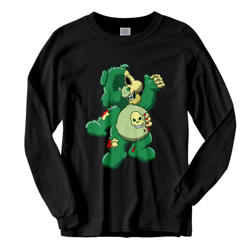 This classic fit Zombie Care Bear Halloween Fresh Best Long Sleeve Shirt is casually elegant and very comfortable. With fine quality print to make one stand out, it's a perfect fit for every occasion.