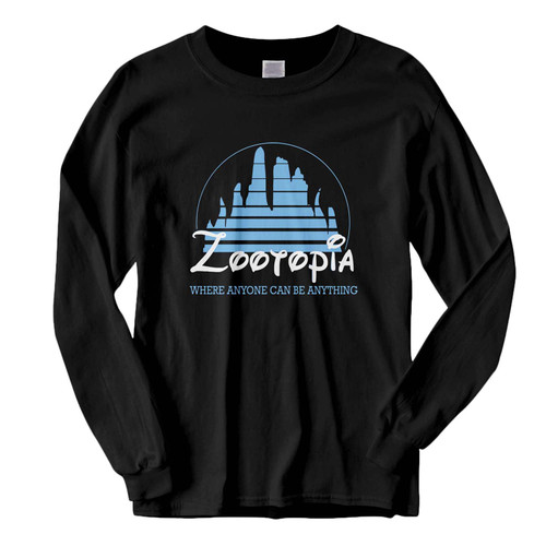 This classic fit Zootopia Disney Movie Logo Fresh Best Long Sleeve Shirt is casually elegant and very comfortable. With fine quality print to make one stand out, it's a perfect fit for every occasion.