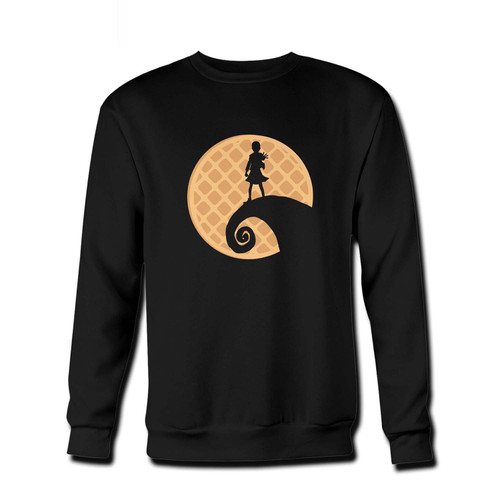 Your A nightmare before stranger things - Stranger Things Fresh Best Crewneck Sweatshirt just got an update. This super comfortable and lighter weight crewneck will become your favorite go-to sweatshirt. The cozy spandex cuffs and waistband make this pill-resistant sweatshirt a fan favorite.And your group will look and feel their best in this premium ringspun cotton crew.