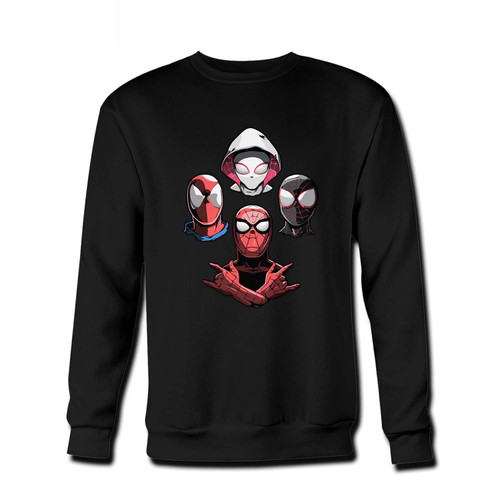 Your Arachnid Rhapsody Fresh Best Crewneck Sweatshirt just got an update. This super comfortable and lighter weight crewneck will become your favorite go-to sweatshirt. The cozy spandex cuffs and waistband make this pill-resistant sweatshirt a fan favorite.And your group will look and feel their best in this premium ringspun cotton crew.