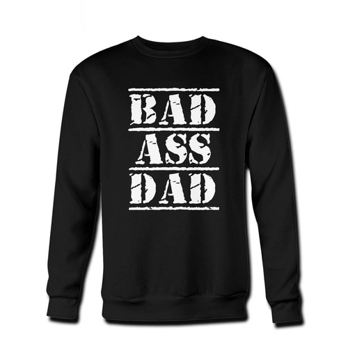 Your bad ass dad Fresh Best Crewneck Sweatshirt just got an update. This super comfortable and lighter weight crewneck will become your favorite go-to sweatshirt. The cozy spandex cuffs and waistband make this pill-resistant sweatshirt a fan favorite.And your group will look and feel their best in this premium ringspun cotton crew.