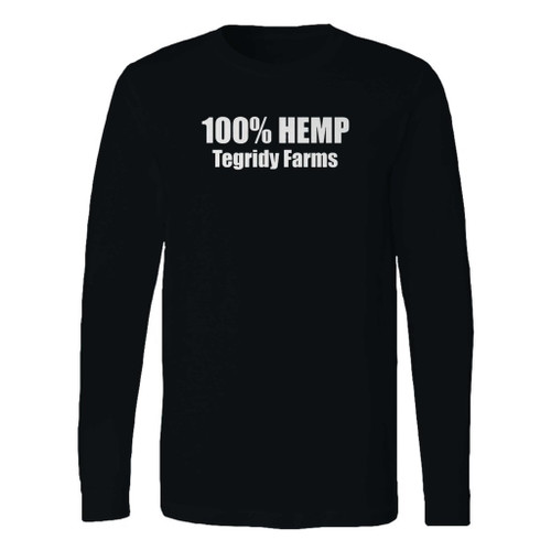 This classic fit 100% hemp tegridy farms long sleeve shirt is casually elegant and very comfortable. With fine quality print to make one stand out, it's a perfect fit for every occasion.