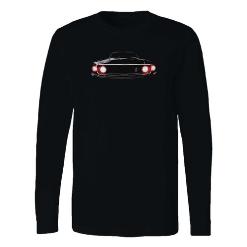 This classic fit 1969 ford mustang boss 302 long sleeve shirt is casually elegant and very comfortable. With fine quality print to make one stand out, it's a perfect fit for every occasion.