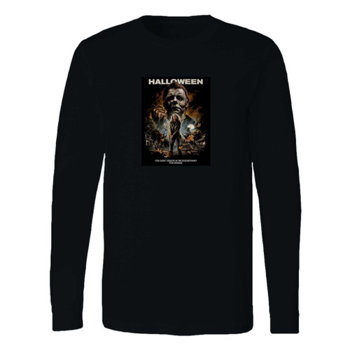 This classic fit 2018 michael myers long sleeve shirt is casually elegant and very comfortable. With fine quality print to make one stand out, it's a perfect fit for every occasion.