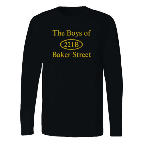 This classic fit 221b baker street long sleeve shirt is casually elegant and very comfortable. With fine quality print to make one stand out, it's a perfect fit for every occasion.