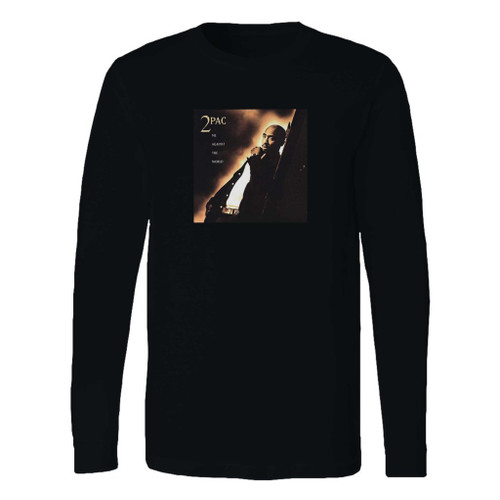This classic fit 2pac me against the world hip hop long sleeve shirt is casually elegant and very comfortable. With fine quality print to make one stand out, it's a perfect fit for every occasion.