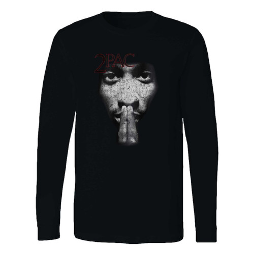 This classic fit 2pac r u still down remember me long sleeve shirt is casually elegant and very comfortable. With fine quality print to make one stand out, it's a perfect fit for every occasion.
