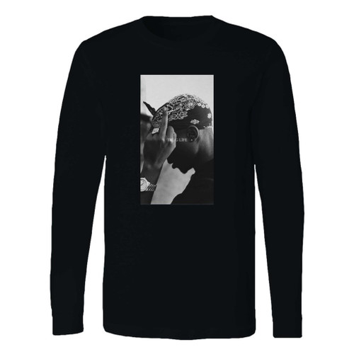This classic fit 2pac shakur trust nobody 2 long sleeve shirt is casually elegant and very comfortable. With fine quality print to make one stand out, it's a perfect fit for every occasion.