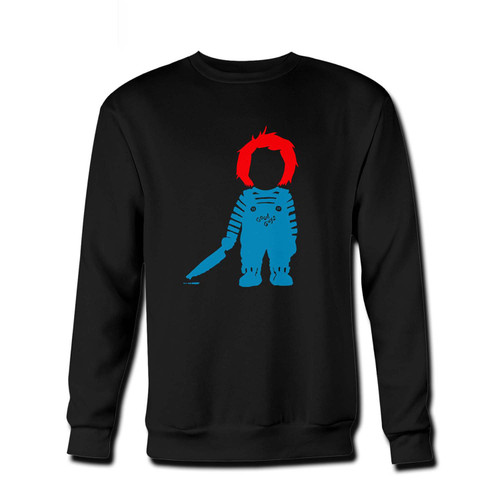 Your Chuckie Good Guys Fresh Best Crewneck Sweatshirt just got an update. This super comfortable and lighter weight crewneck will become your favorite go-to sweatshirt. The cozy spandex cuffs and waistband make this pill-resistant sweatshirt a fan favorite.And your group will look and feel their best in this premium ringspun cotton crew.