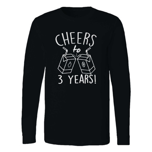 This classic fit 3rd birthday long sleeve shirt is casually elegant and very comfortable. With fine quality print to make one stand out, it's a perfect fit for every occasion.