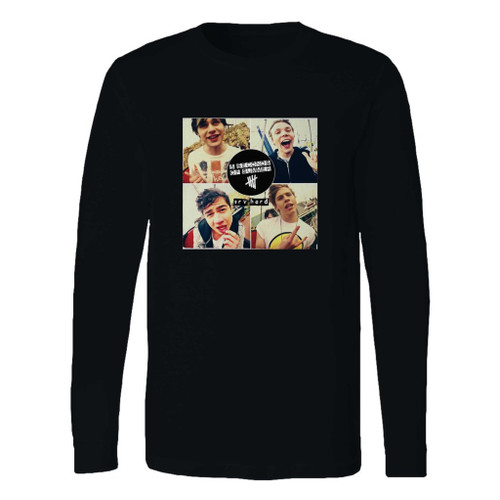This classic fit 5 seconds of summer album long sleeve shirt is casually elegant and very comfortable. With fine quality print to make one stand out, it's a perfect fit for every occasion.