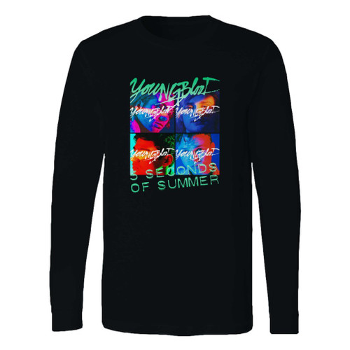 This classic fit 5 second of summer youngblood long sleeve shirt is casually elegant and very comfortable. With fine quality print to make one stand out, it's a perfect fit for every occasion.