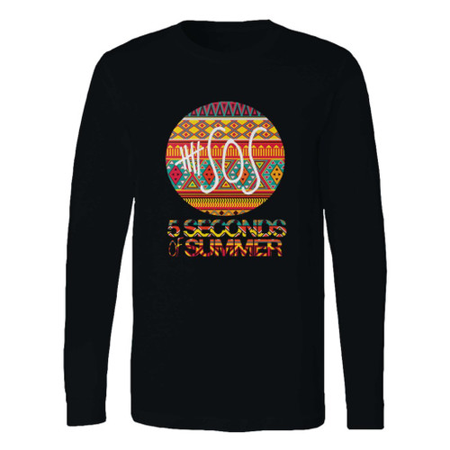 This classic fit 5 sos logo long sleeve shirt is casually elegant and very comfortable. With fine quality print to make one stand out, it's a perfect fit for every occasion.