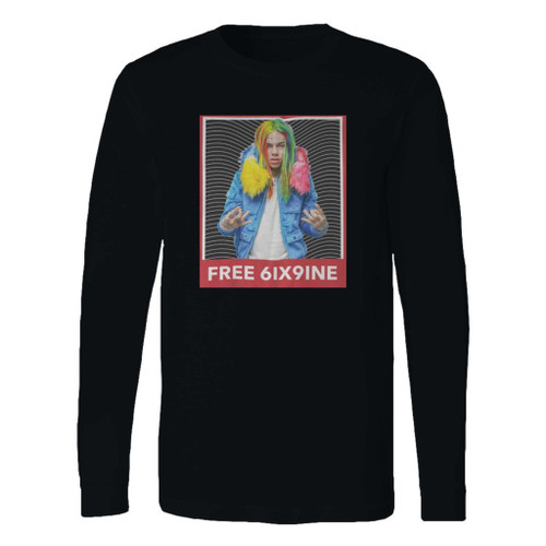 This classic fit 6ix9ine rapper hip hop style 1 long sleeve shirt is casually elegant and very comfortable. With fine quality print to make one stand out, it's a perfect fit for every occasion.