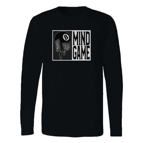 This classic fit 8 ball mind game long sleeve shirt is casually elegant and very comfortable. With fine quality print to make one stand out, it's a perfect fit for every occasion.