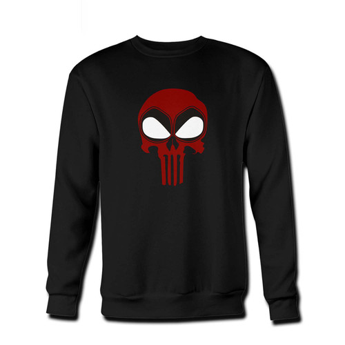 Your Deadpool Punisher Skull Fresh Best Crewneck Sweatshirt just got an update. This super comfortable and lighter weight crewneck will become your favorite go-to sweatshirt. The cozy spandex cuffs and waistband make this pill-resistant sweatshirt a fan favorite.And your group will look and feel their best in this premium ringspun cotton crew.