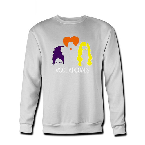 Your Hocus Pocus Squad Fresh Best Crewneck Sweatshirt just got an update. This super comfortable and lighter weight crewneck will become your favorite go-to sweatshirt. The cozy spandex cuffs and waistband make this pill-resistant sweatshirt a fan favorite.And your group will look and feel their best in this premium ringspun cotton crew.
