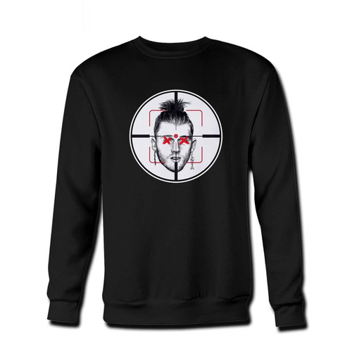 Your Machine Gun Kelly Diss Track Killshot Fresh Best Crewneck Sweatshirt just got an update. This super comfortable and lighter weight crewneck will become your favorite go-to sweatshirt. The cozy spandex cuffs and waistband make this pill-resistant sweatshirt a fan favorite.And your group will look and feel their best in this premium ringspun cotton crew.