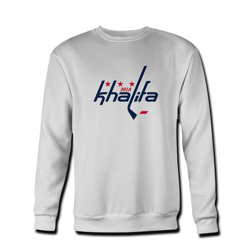 Your Mia Khalifa Caps Logo Fresh Best Crewneck Sweatshirt just got an update. This super comfortable and lighter weight crewneck will become your favorite go-to sweatshirt. The cozy spandex cuffs and waistband make this pill-resistant sweatshirt a fan favorite.And your group will look and feel their best in this premium ringspun cotton crew.