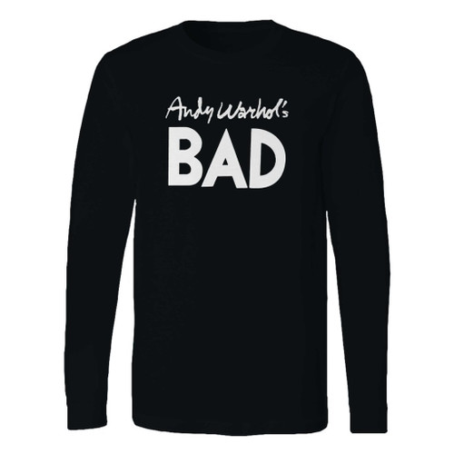 This classic fit andy warhols bad long sleeve shirt is casually elegant and very comfortable. With fine quality print to make one stand out, it's a perfect fit for every occasion.