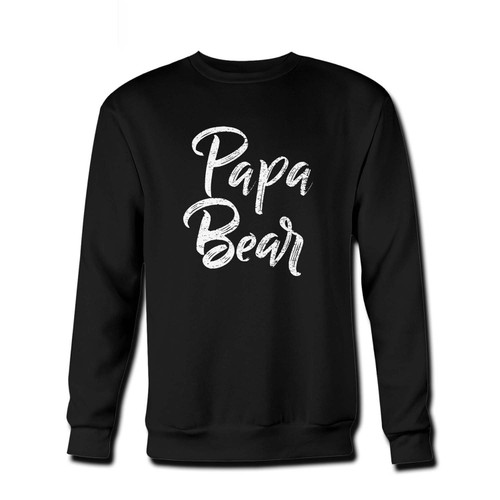 Your Papa Bear Fresh Best Crewneck Sweatshirt just got an update. This super comfortable and lighter weight crewneck will become your favorite go-to sweatshirt. The cozy spandex cuffs and waistband make this pill-resistant sweatshirt a fan favorite.And your group will look and feel their best in this premium ringspun cotton crew.