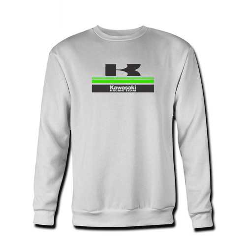 Your Racing Team Kawasaki Fresh Best Crewneck Sweatshirt just got an update. This super comfortable and lighter weight crewneck will become your favorite go-to sweatshirt. The cozy spandex cuffs and waistband make this pill-resistant sweatshirt a fan favorite.And your group will look and feel their best in this premium ringspun cotton crew.