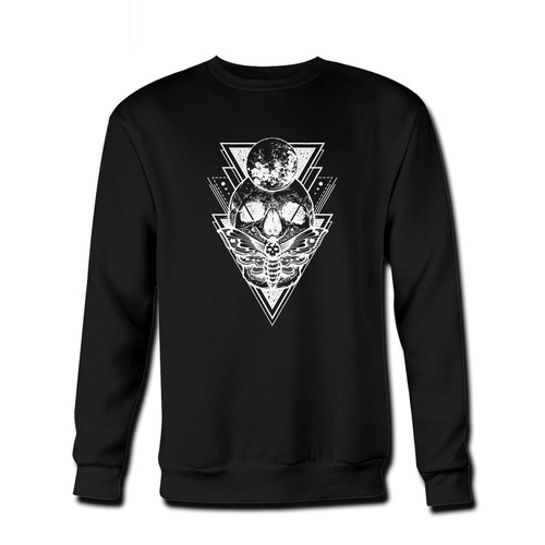 Your Skull Moon Gothic Fresh Best Crewneck Sweatshirt just got an update. This super comfortable and lighter weight crewneck will become your favorite go-to sweatshirt. The cozy spandex cuffs and waistband make this pill-resistant sweatshirt a fan favorite.And your group will look and feel their best in this premium ringspun cotton crew.