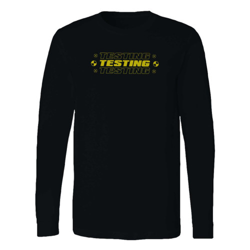 This classic fit asap rocky testing long sleeve shirt is casually elegant and very comfortable. With fine quality print to make one stand out, it's a perfect fit for every occasion.