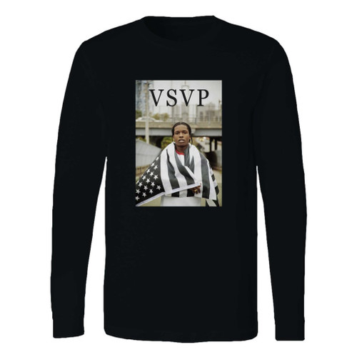 This classic fit asap rocky wma flag long sleeve shirt is casually elegant and very comfortable. With fine quality print to make one stand out, it's a perfect fit for every occasion.