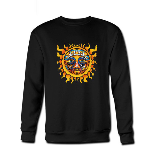Your Sublime Santeria Sun Sad Fresh Best Crewneck Sweatshirt just got an update. This super comfortable and lighter weight crewneck will become your favorite go-to sweatshirt. The cozy spandex cuffs and waistband make this pill-resistant sweatshirt a fan favorite.And your group will look and feel their best in this premium ringspun cotton crew.