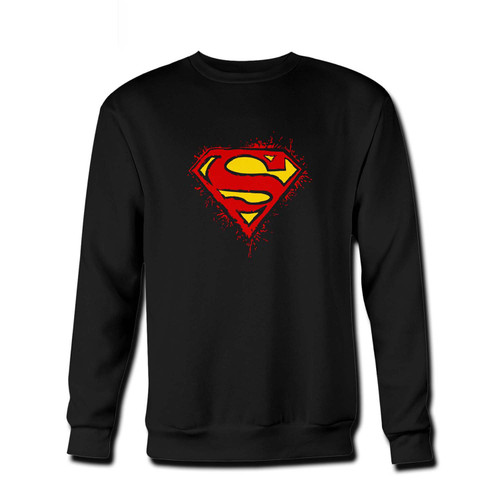 Your Superman Vintage Logo Fresh Best Crewneck Sweatshirt just got an update. This super comfortable and lighter weight crewneck will become your favorite go-to sweatshirt. The cozy spandex cuffs and waistband make this pill-resistant sweatshirt a fan favorite.And your group will look and feel their best in this premium ringspun cotton crew.