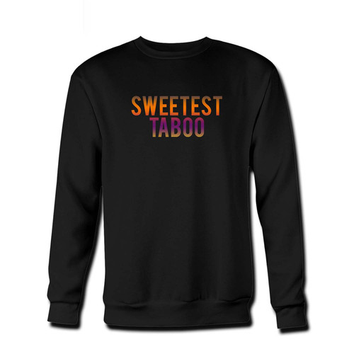 Your Sweetest Taboo Art Fresh Best Crewneck Sweatshirt just got an update. This super comfortable and lighter weight crewneck will become your favorite go-to sweatshirt. The cozy spandex cuffs and waistband make this pill-resistant sweatshirt a fan favorite.And your group will look and feel their best in this premium ringspun cotton crew.