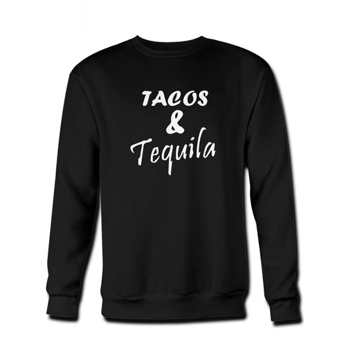 Your Tacos And Tequila Fresh Best Crewneck Sweatshirt just got an update. This super comfortable and lighter weight crewneck will become your favorite go-to sweatshirt. The cozy spandex cuffs and waistband make this pill-resistant sweatshirt a fan favorite.And your group will look and feel their best in this premium ringspun cotton crew.