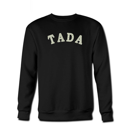 Your Tada Fresh Best Crewneck Sweatshirt just got an update. This super comfortable and lighter weight crewneck will become your favorite go-to sweatshirt. The cozy spandex cuffs and waistband make this pill-resistant sweatshirt a fan favorite.And your group will look and feel their best in this premium ringspun cotton crew.