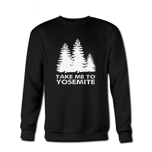 Your Take Me To Yosemite Art Fresh Best Crewneck Sweatshirt just got an update. This super comfortable and lighter weight crewneck will become your favorite go-to sweatshirt. The cozy spandex cuffs and waistband make this pill-resistant sweatshirt a fan favorite.And your group will look and feel their best in this premium ringspun cotton crew.