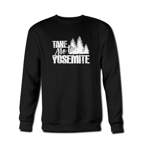 Your Take Me To Yosemite Fresh Best Crewneck Sweatshirt just got an update. This super comfortable and lighter weight crewneck will become your favorite go-to sweatshirt. The cozy spandex cuffs and waistband make this pill-resistant sweatshirt a fan favorite.And your group will look and feel their best in this premium ringspun cotton crew.