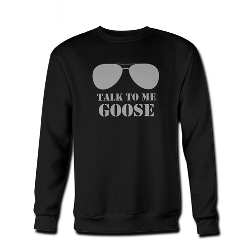 Your Talk To Me Goose Fresh Best Crewneck Sweatshirt just got an update. This super comfortable and lighter weight crewneck will become your favorite go-to sweatshirt. The cozy spandex cuffs and waistband make this pill-resistant sweatshirt a fan favorite.And your group will look and feel their best in this premium ringspun cotton crew.
