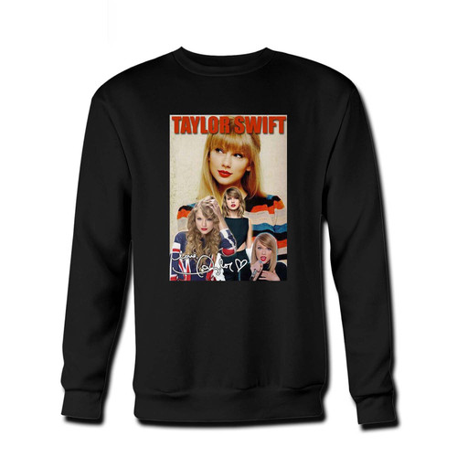 Your Taylor Swift Vintage Fresh Best Crewneck Sweatshirt just got an update. This super comfortable and lighter weight crewneck will become your favorite go-to sweatshirt. The cozy spandex cuffs and waistband make this pill-resistant sweatshirt a fan favorite.And your group will look and feel their best in this premium ringspun cotton crew.